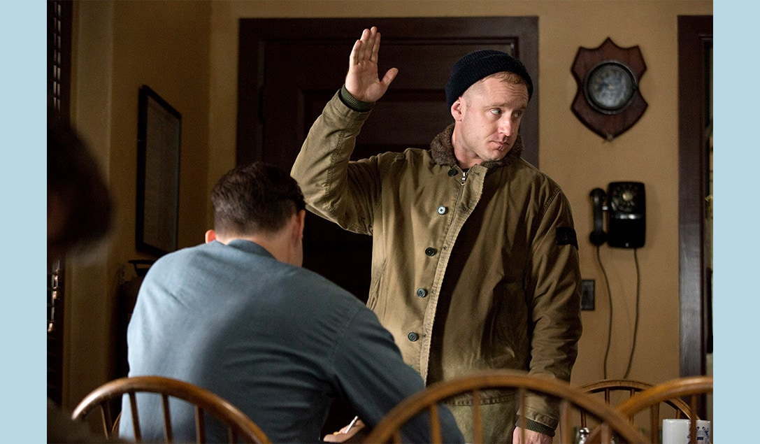 """Ben Foster in the movie """"The Finest Hours"""""""