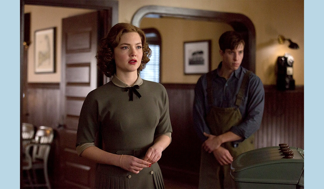 Holliday Grainger and Beau Knapp in the movie 'The Finest Hours'