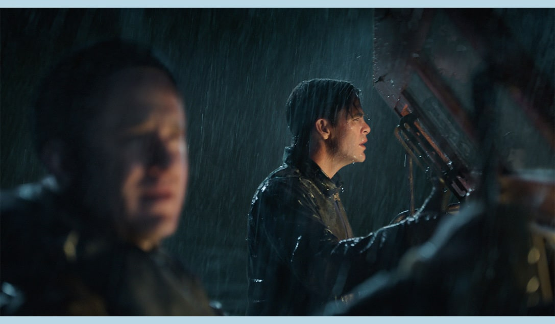 """Actor Chris Pine in the movie """"The Finest Hours"""""""