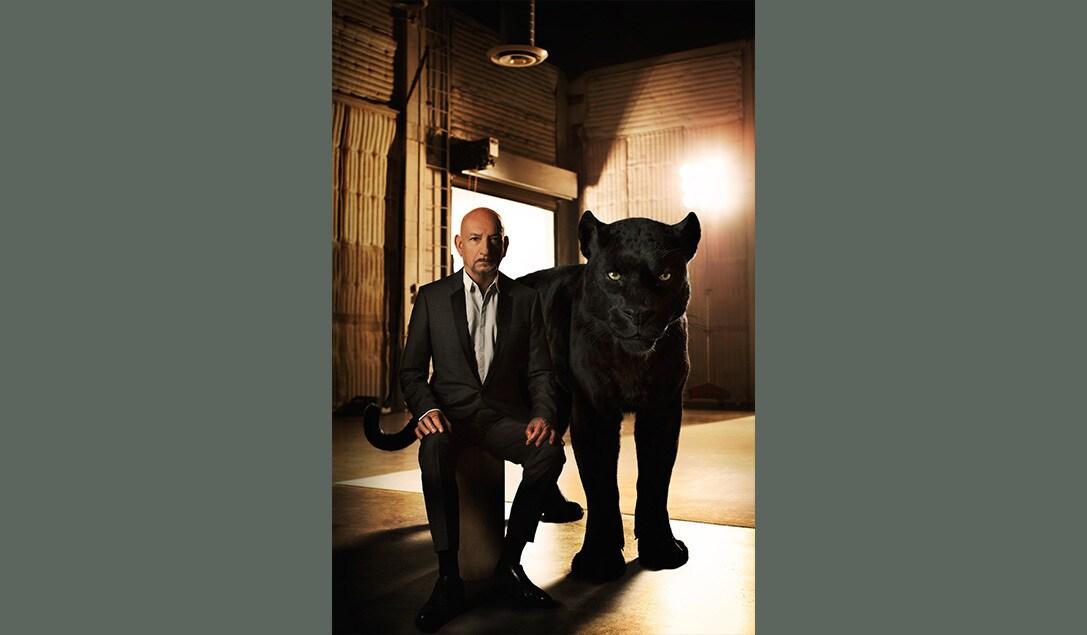 """Ben Kingsley as Bagheera in """"The Jungle Book"""""""