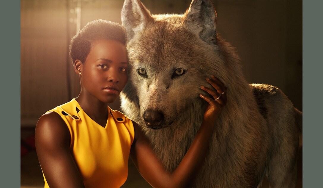 """Lupita Nyong'o voices Raksha in """"The Jungle Book"""""""