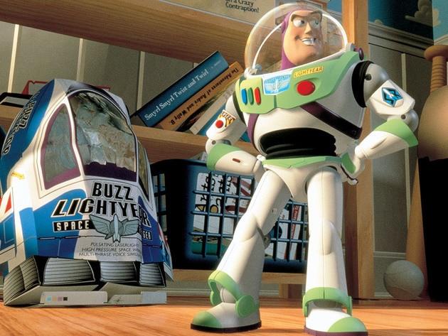 """I'm Buzz Lightyear, Space Ranger, Universe Protection Unit. My ship has crash-landed here by mis..."