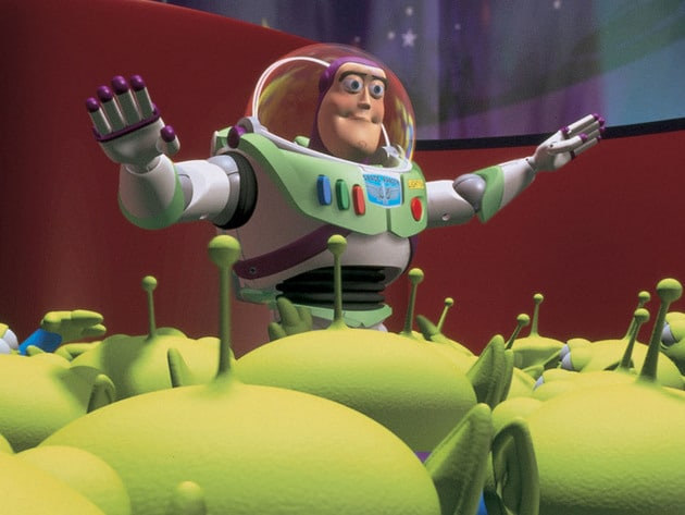 """I am Buzz Lightyear; I come in peace."""
