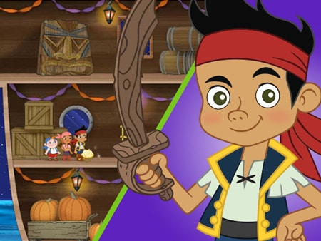 Jake and the Never Land Pirates - Bucky's Halloween Haunt