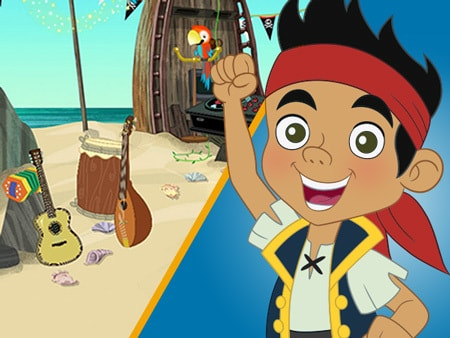 Jake and the Never Land Pirates Sticker Book