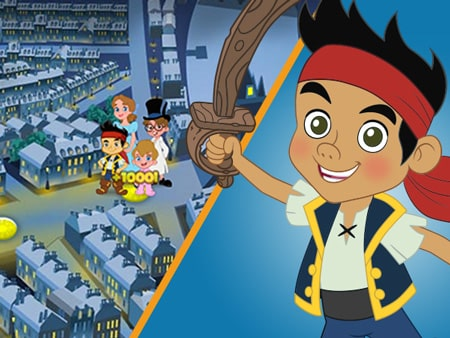 Puttin Pirates - Jake And The Never Land Pirates Games