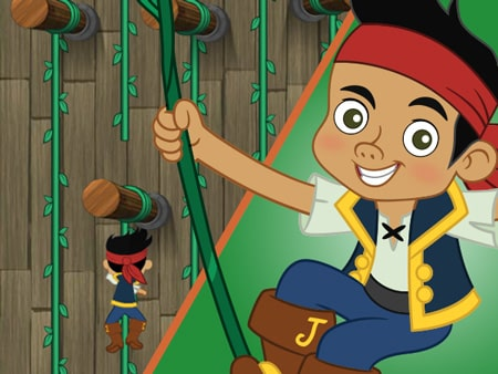 Jake and the Neverland Pirates disney junior games ...