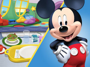 Mickey Mouse Clubhouse Ke Cafe