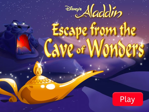 Escape from the Cave of Wonders