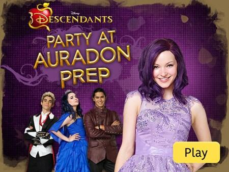 Descendants Party At Auradon Prep Disney Lol