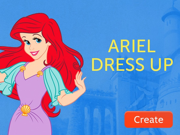 Ariel Dress Up GT