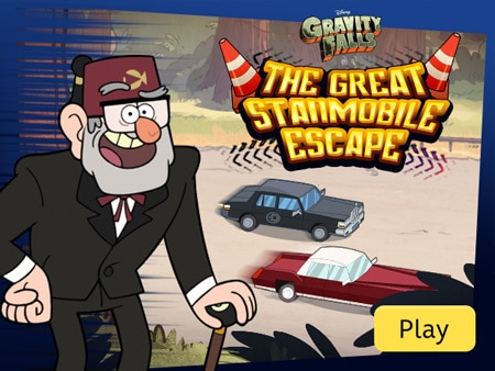 Gravity Falls - The Great Stanmobile Escape