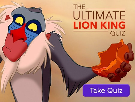 The Ultimate Lion King Quiz