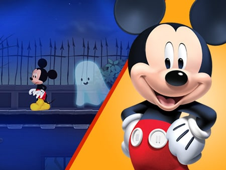 bump in the night - Mickey Mouse Online Games For Toddlers