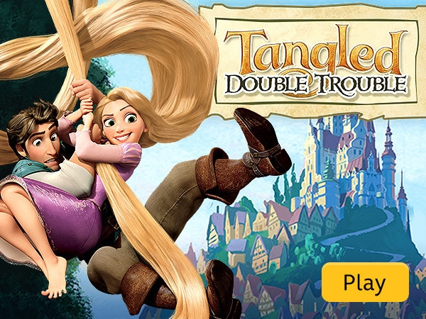 Tangled Double Trouble Disney Lol Games