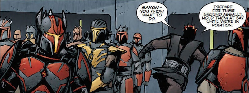 Gar Saxon serving under Darth Maul
