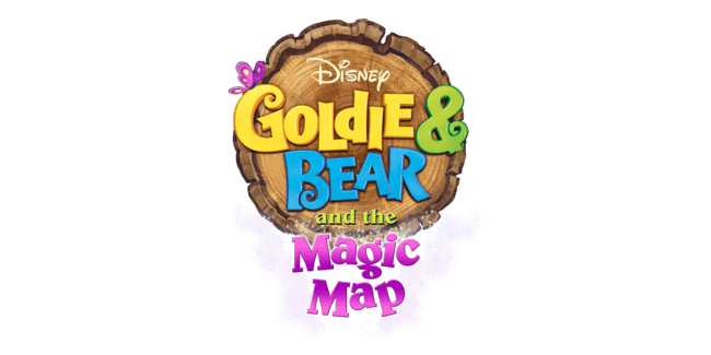 Goldie & Bear and the Magic Map