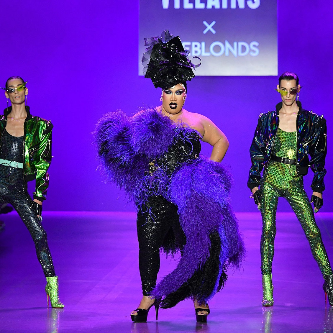 Disney Villains Took Center Stage at New York Fashion Week and OMG, We're Screaming