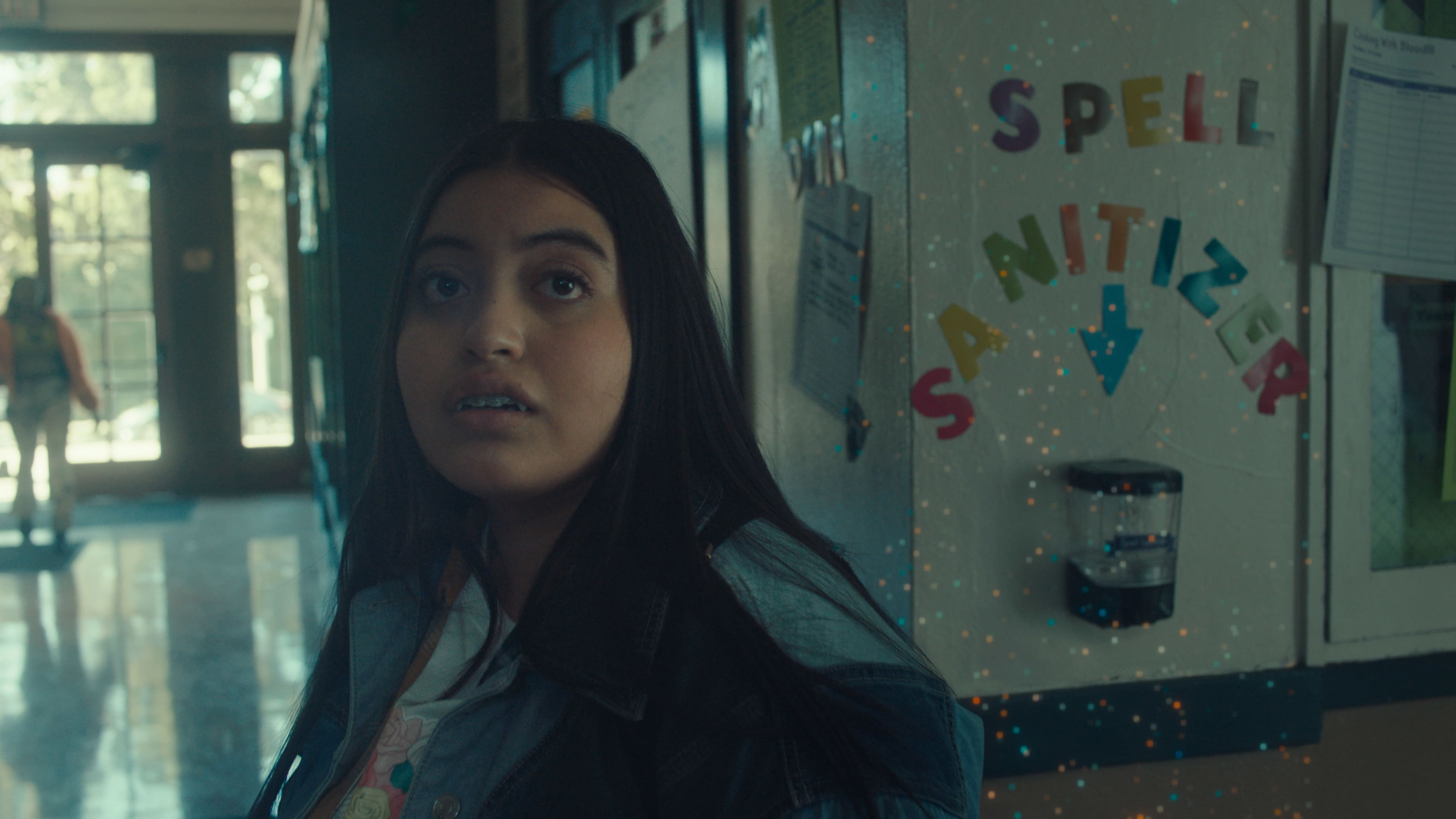 """Keyla Monterroso Mejia as Val Garcia in Disney's """"LAUNCHPAD"""" Season One short, """"GROWING FANGS,"""" Written and Directedby Ann Marie Pace. Photo courtesy of Disney. © 2021 Disney Enterprises, Inc. All Rights Reserved."""