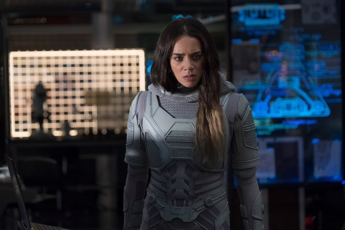 Ghost Without Mask Ant-Man and the Wasp