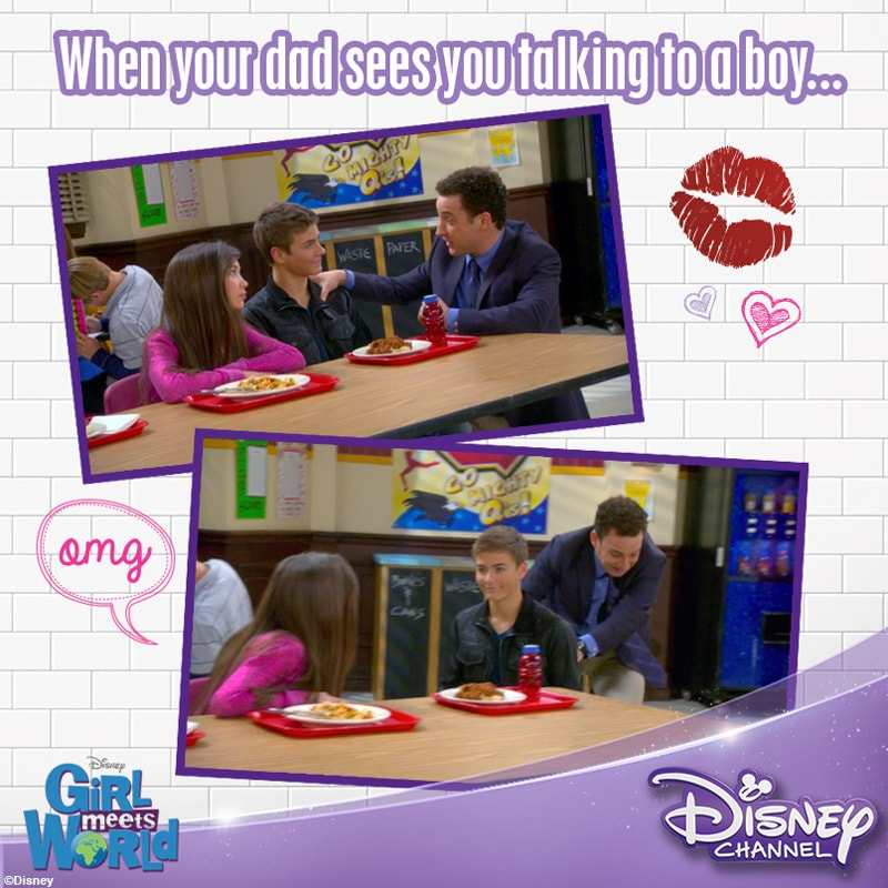 disney channel girl meets world Answer 1 of 17: hello, i am very happy that i was able to get tickets for my 11 year old daughter and i to see a live audience taping of the disney channel show, girl meets world.