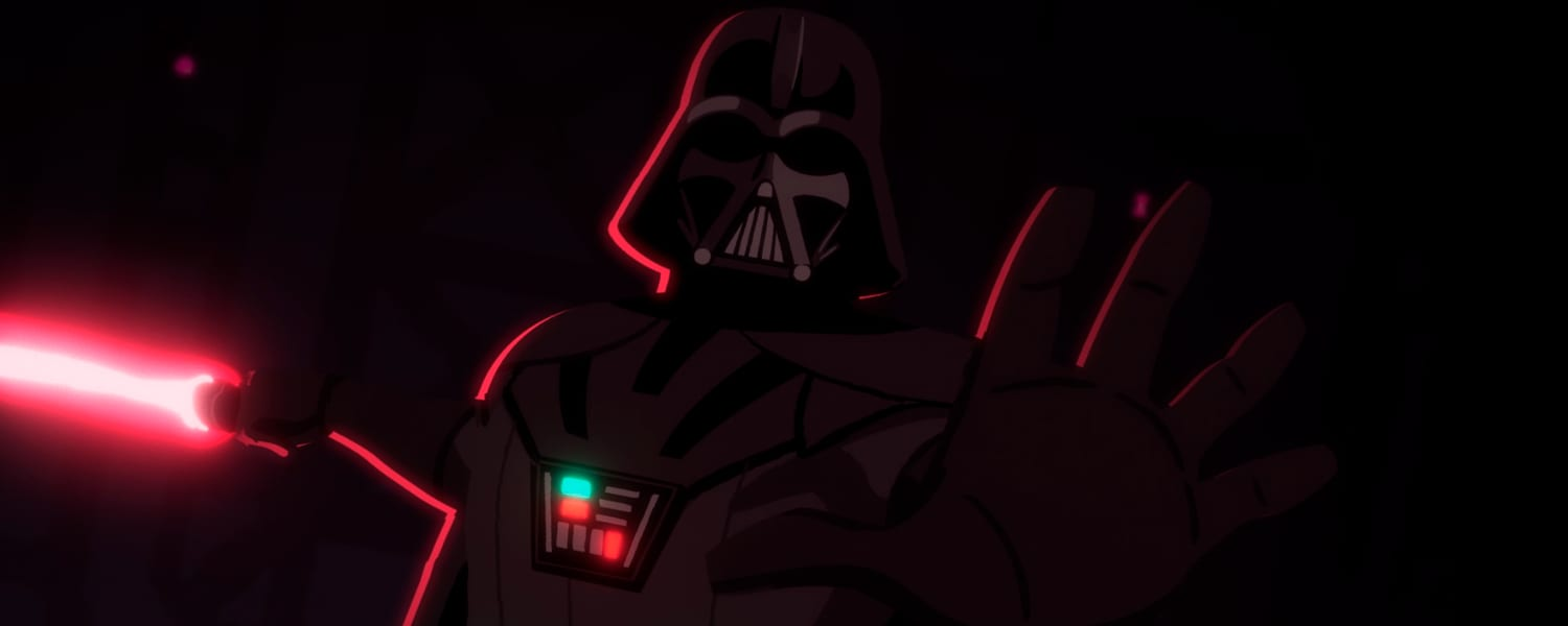 Darth Vader em Galaxy of Adventure
