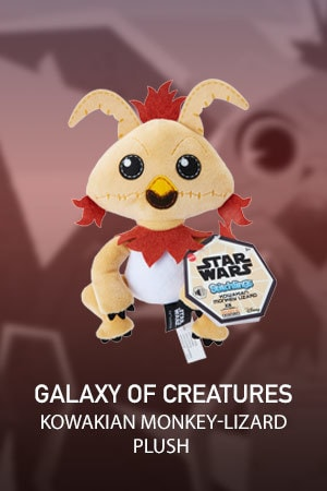 Galaxy of Creatures Plush Toy - Kowakian Monkey-Lizard