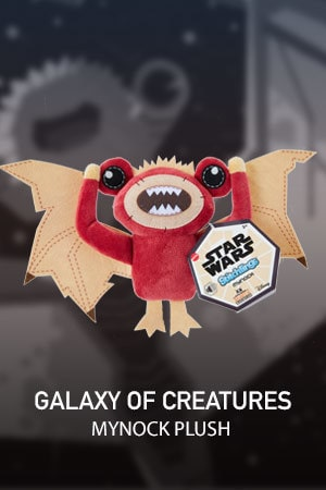 Galaxy of Creatures Plush Toy - Mynock