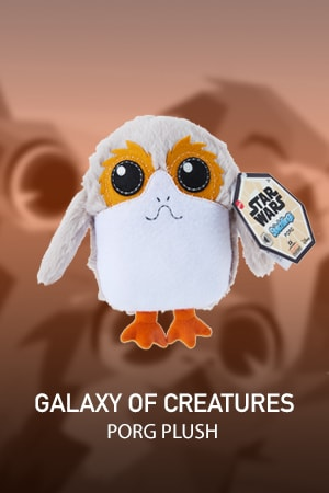 Galaxy of Creatures Plush Toy - Porg