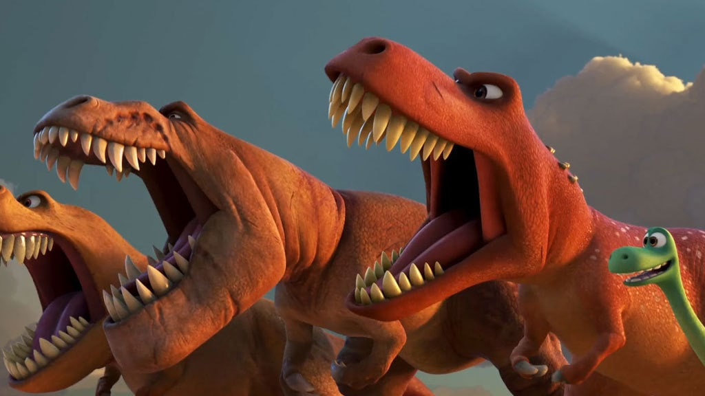 Roar - The Good Dinosaur Clip