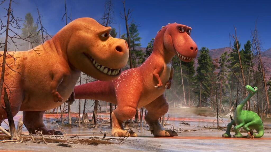 T-Rexes - The Good Dinosaur Clip