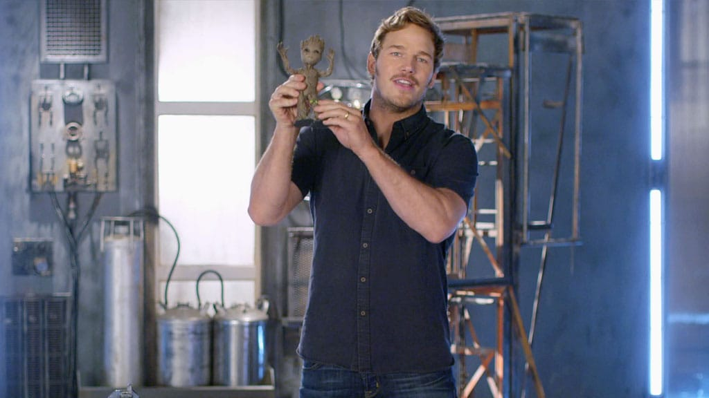 "Chris Pratt presents ""Props"" - Marvel's Guardians of the Galaxy Vol 2"