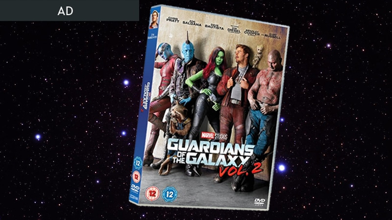 Guardians of the Galaxy Vol 2 on DVD