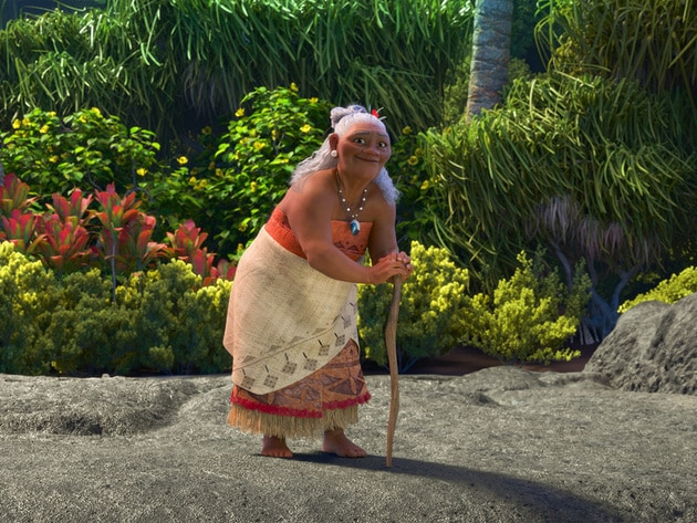 Gramma Tala, is Moana's confidante and best friend, who shares her granddaughter's special connec...