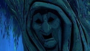 "Grandmother Willow from the animated movie ""Pocahontas"""