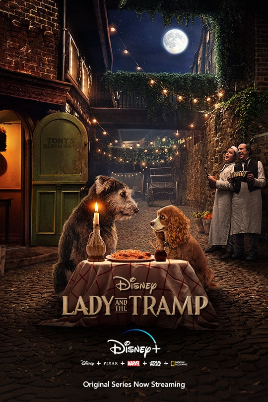 Lady and the Tramp - poster image - Disney+