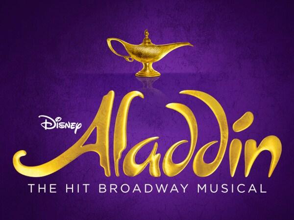 Disney Aladdin. The Hit Broadway Musical.