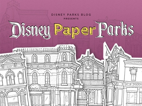 Disney Paper Parks Designed by Walt Disney Imagineering, Part 2