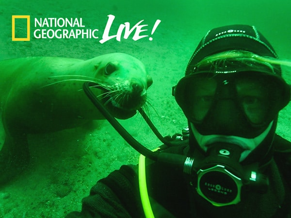 "Go ""Backstage"" with Nat Geo Explorers and Speakers"