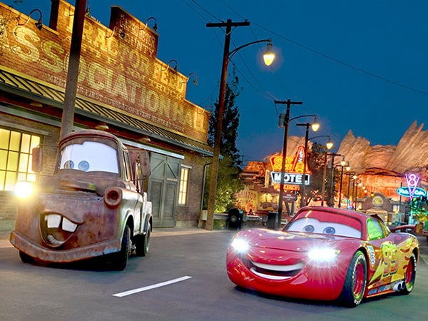 Take a Ride Through the Making of Cars Land!