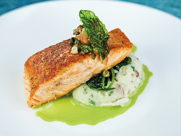 Pan-seared Salmon Recipe from Disneyland's Blue Bayou