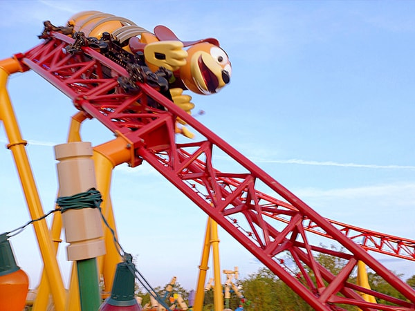 Go! Go! Go! for a Ride on Slinky Dog Dash at Disney's Hollywood Studios