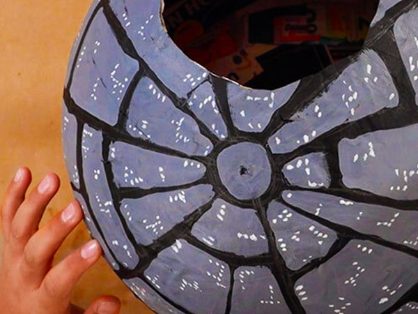 That's No Moon-- It's a Star Wars Death Star Piñata