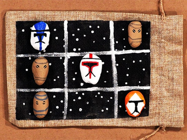 Win the Clone Wars...with This 'Star Wars' Tic-Tac-Toe DIY