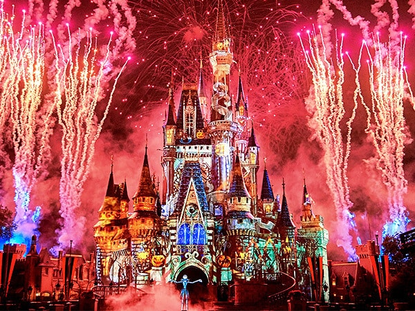 Virtual Viewing of Disney's Not-So-Spooky Spectacular at Walt Disney World Resort