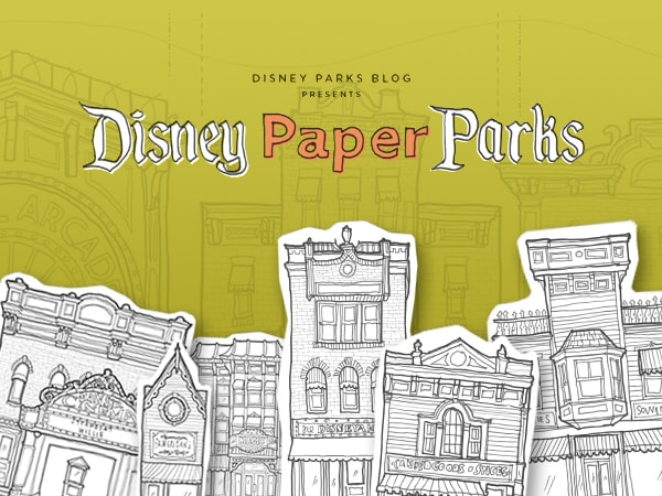 Disney Parks Blog Presents Disney Paper Parks Designed by Walt Disney Imagineering, Part 1