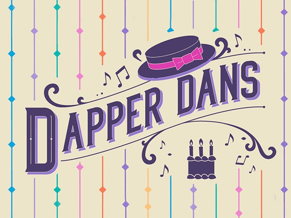 #VoicesFromHome: Happy Birthday from the Dapper Dans