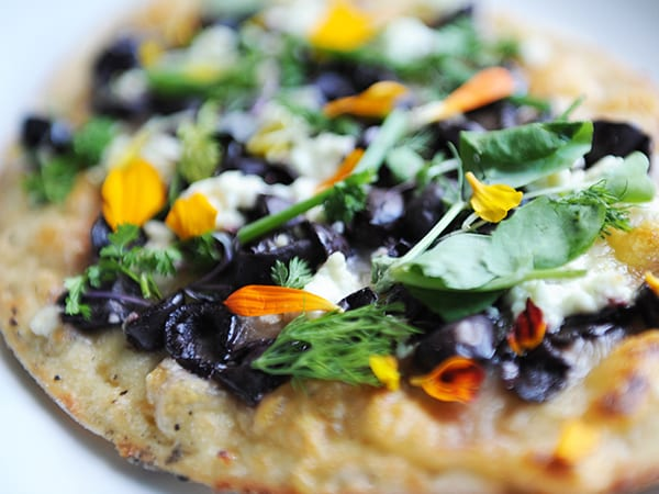 Jiko's Millet Flatbread with Kalamata Olives Recipe