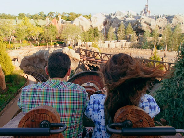 Whistle While You Ride on Seven Dwarfs Mine Train at Walt Disney World Resort