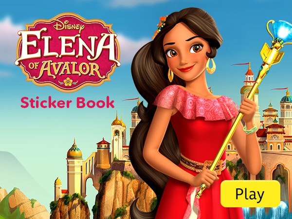 Elena of Avalor Sticker Book